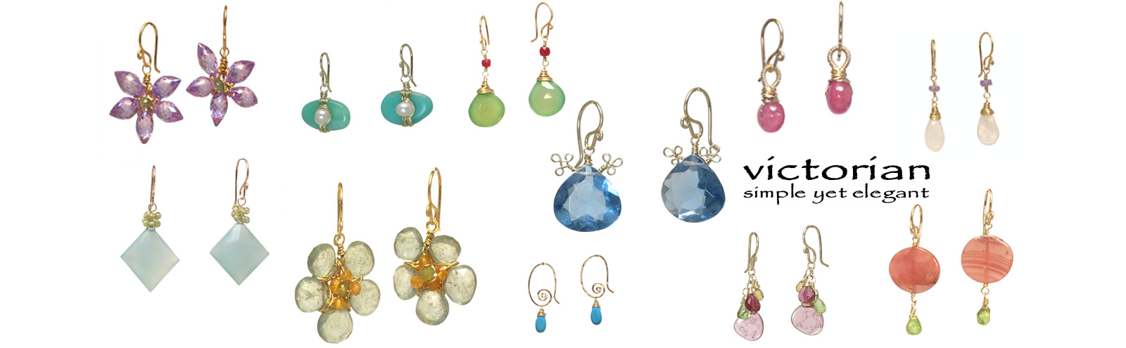 dainty yet elegant gemstone jewelry